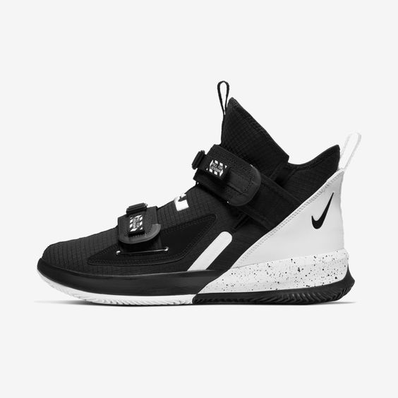 Nike LeBron Soldier 13 SFG (Team) Basketball Shoe (Black)