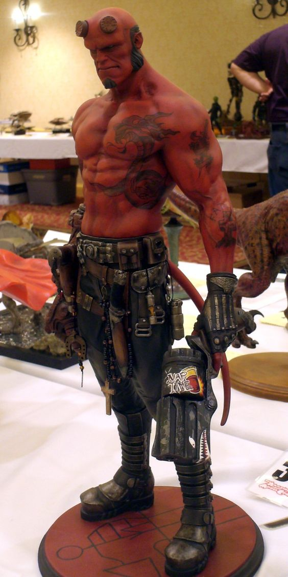 """One """"hell"""" of a Hellboy! :)"""