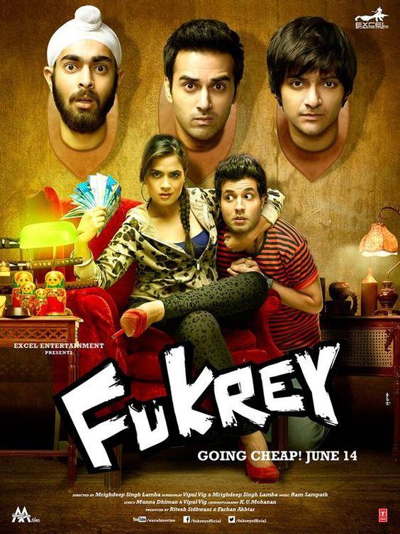 Fukrey (2013) Movie Poster
