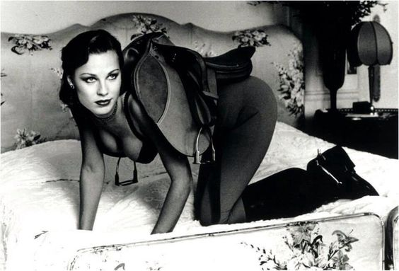 Photograph by Helmut Newton