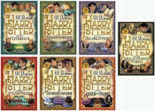 J K Rowling Harry Potter Jubilaumsausgabe Amazon De Elektronik Rowling Harry Potter Bucher