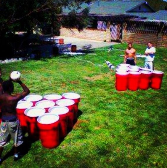 Giant Backyard Games: Giant Games, Game Of And Red Solo Cup On Pinterest