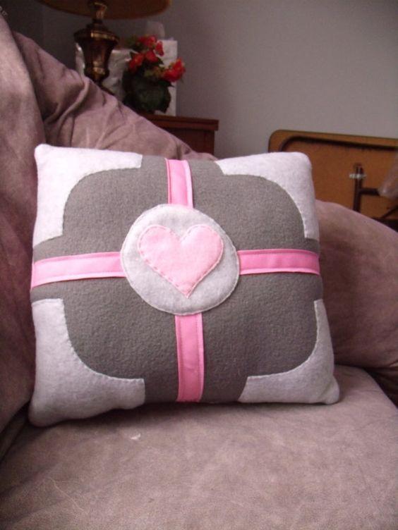 Deluxe Companion Cube Pillow