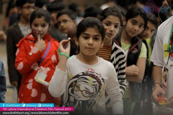 Day 1: Fun things to do when you wait for your show to start!  7th Lahore International Childrens Film Festival Presents (16-21 November2015)  World's best 77 film from 26 countries  For more details http://ift.tt/1Mphz2c http://ift.tt/1WVCc03  twitter.org/tlaorg instagram.com/tlaorg  #TLAORG #LICFF #Lahore #Children #Film #Festival #Pakistan #Kids
