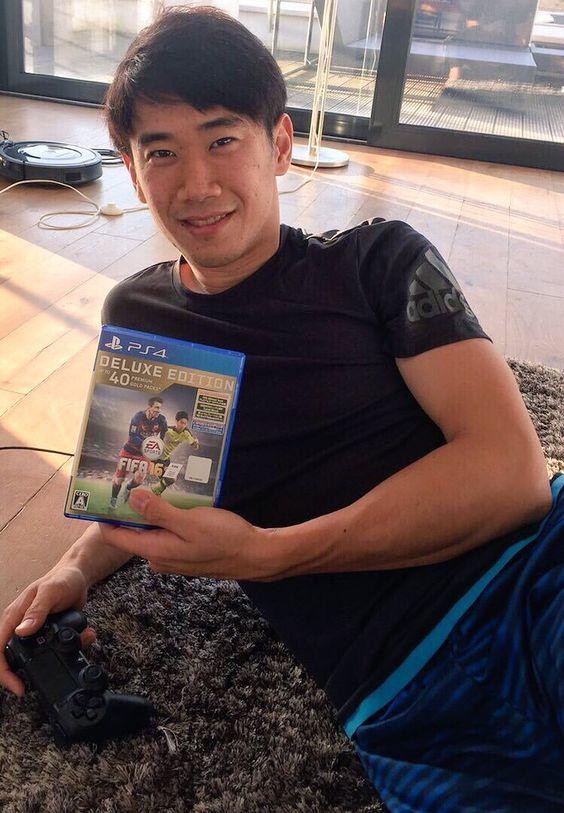 ゲームと香川真司さん