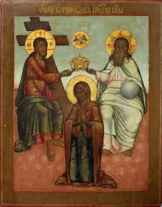 Coronation of the Virgin Mary (late 18th – early 19th century)