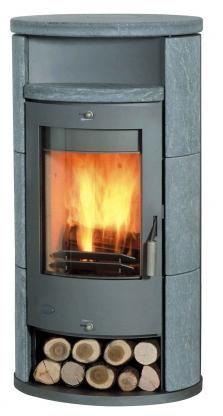 Kaminofen Fireplace Alicante Speckstein 8 kW