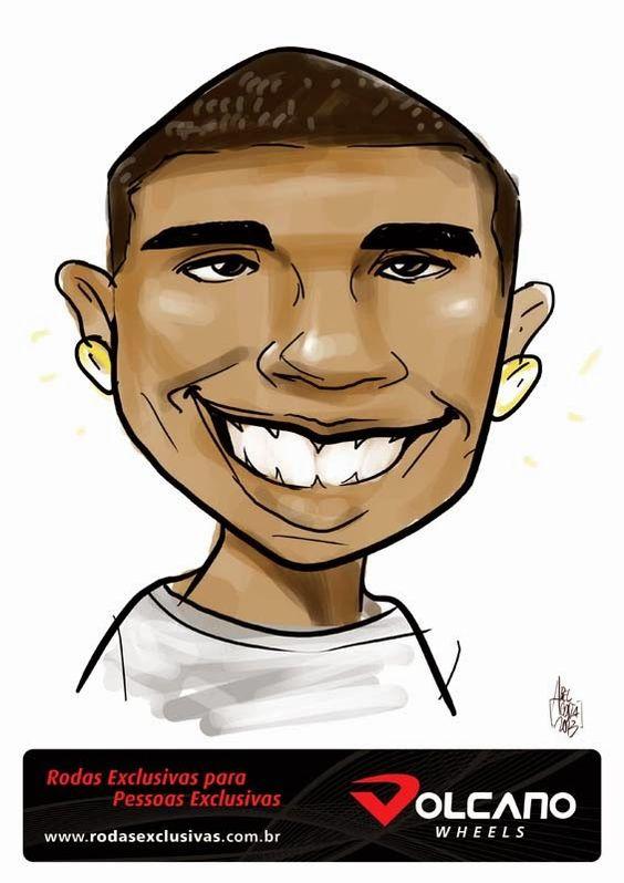 ABEL COSTA CARICATURAS: Caricatura Digital para Empresa