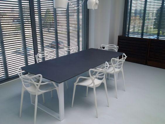 Tavolo cemento ~ Neolightic lampada da tavolo in cemento di design neolightic