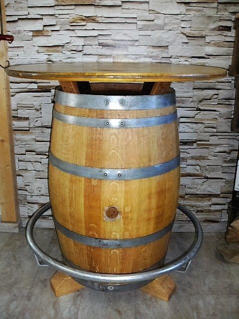 Details Zu Fasstisch Weinfass Tisch Eichenfass Holzfass Bystrotisch