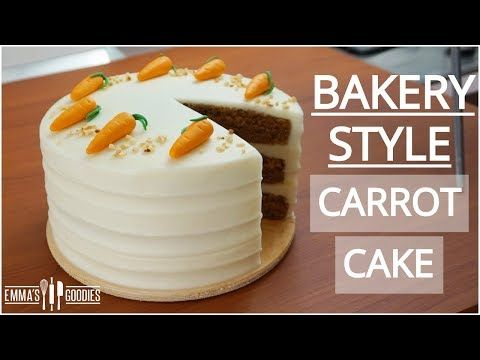 The Best Carrot Cake Recipe With Cream Cheese Frosting Bakery Style Carrot Cake Youtube Best Carrot Cake Cake Cream Cheese Recipes