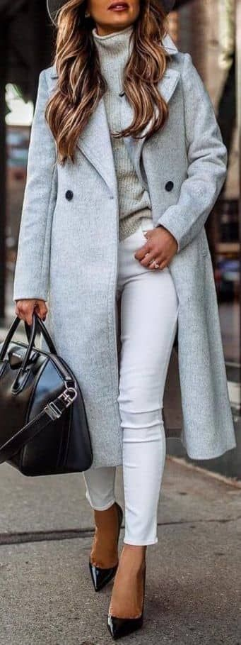 45 Lovely Winter Outfits to Own Now Vol. 1 / 15 #Winter #Outfits #2019