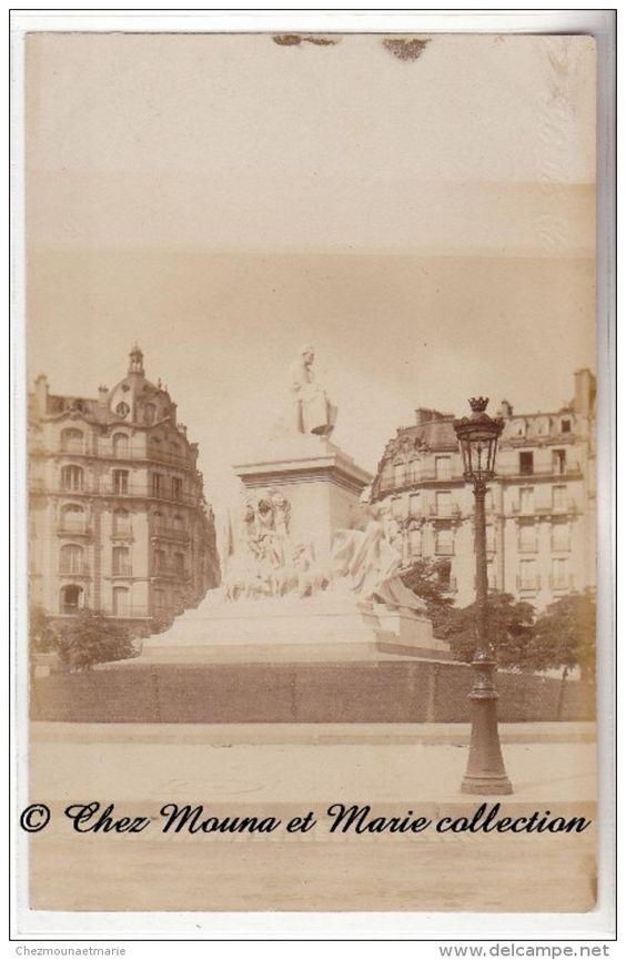 PARIS - MONUMENT LOUIS PASTEUR - PLACE BRETEUIL - CARTE PHOTO
