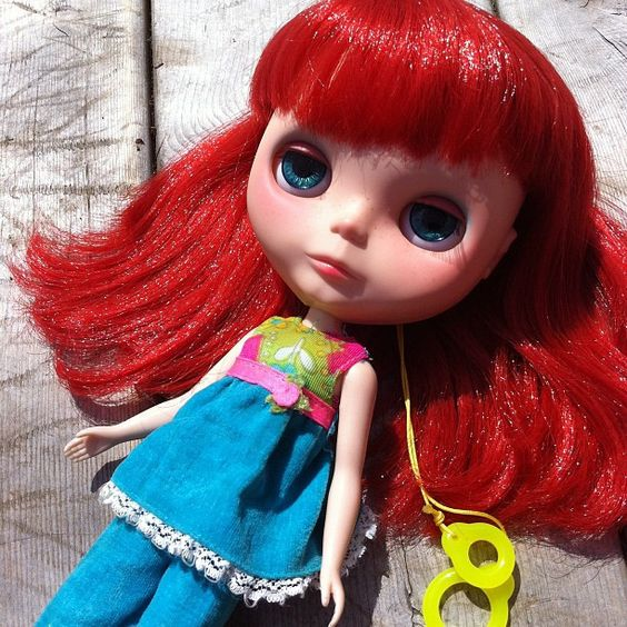 Blythe loves vintage skipper by astrosnik, via Flickr