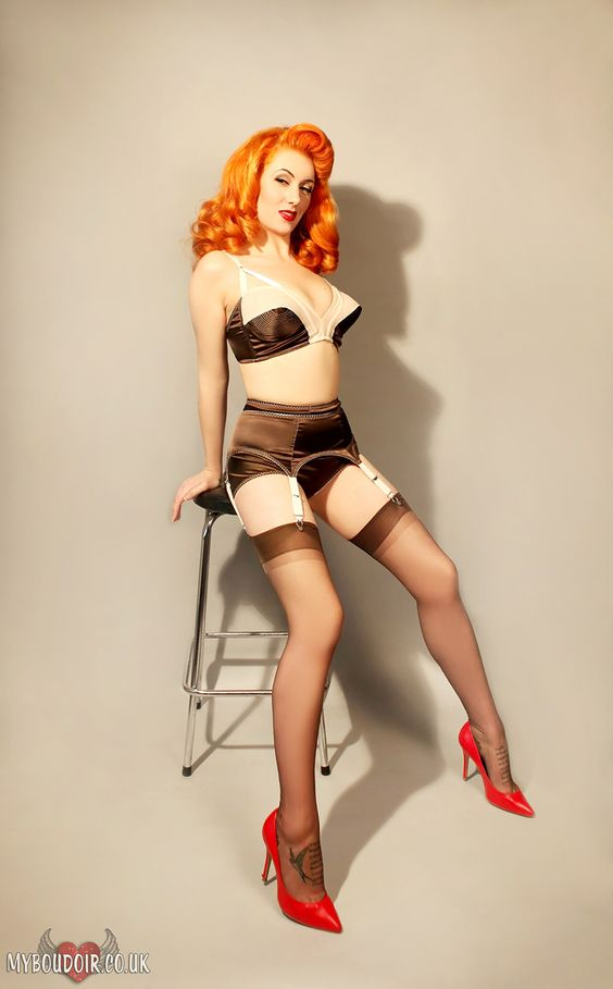 Yeah sexy vintage posters of redheads pretty granny