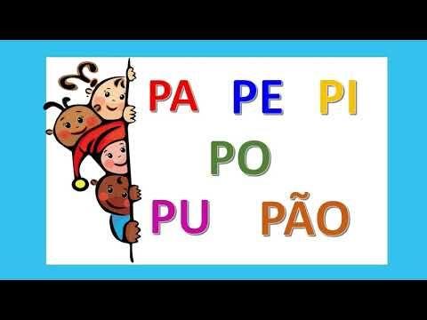 Pin Em Familia Silabica Do P