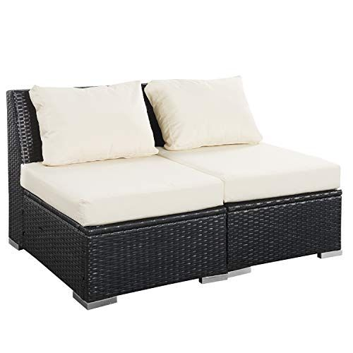 Super Outdoor Patio Furniture Sets Pe Rattan Wicker Sofa Sectional Inzonedesignstudio Interior Chair Design Inzonedesignstudiocom