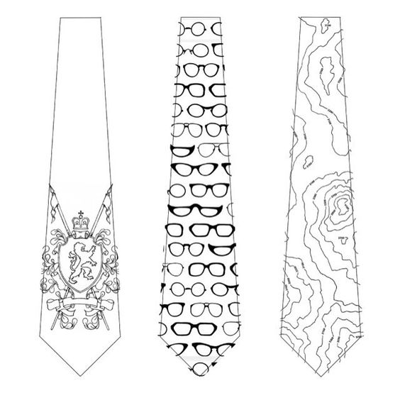 Triple trouble from the guys with the ties at projector.etsy.com coming soon - from left to right - Coat of Arms, What a Spectacle and Cartography. If you have any better titles let us know as its all still work in progress. #coatofarms #heraldry #chivalry #spectacles #glasses #vision #optician #map #chart #cartography #orienteering #design #illustration #new #tie en #gentlemen #Etsy #EtsyUK #folksy