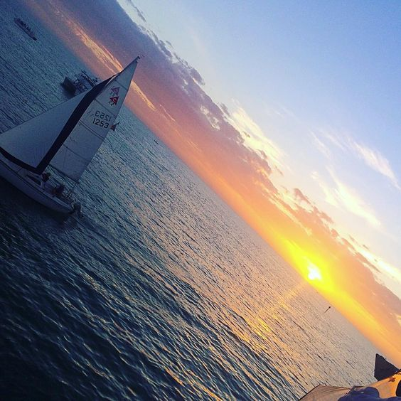 Paradise Coast sunset from the Naples Princess. Photo by IG User kaymcmurray ⛵️