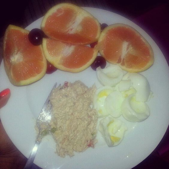 Flat abs sample meal
