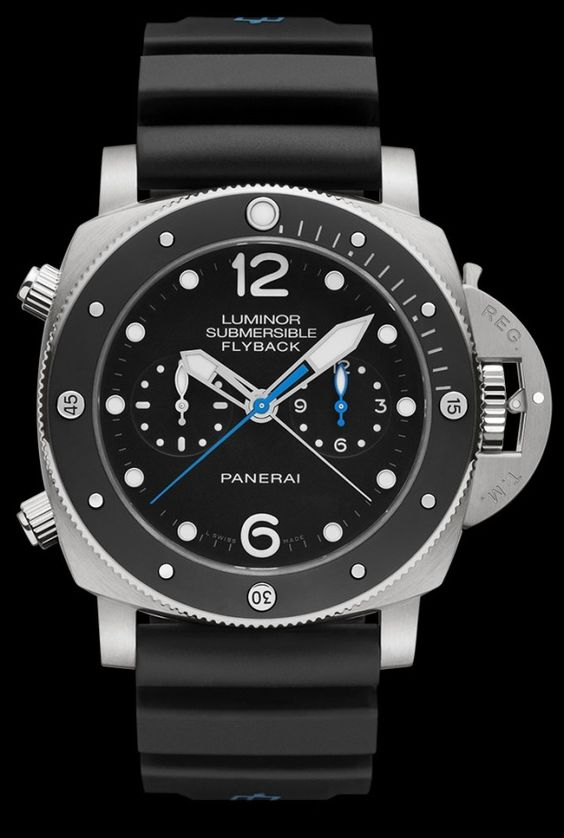 Panerai PAM 615 Luminor Submersible Flyback Chrono