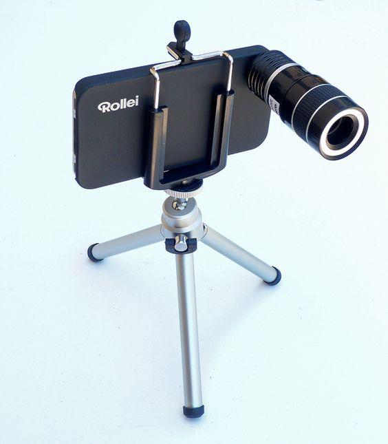 Test du téléobjectif Rollei 8x pour l'iPhone