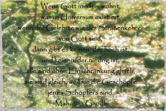 #gelehrte, #geschöpfe, #gleichberechtigung, #Gott, #MahatmaGandhi, #Schöpfer