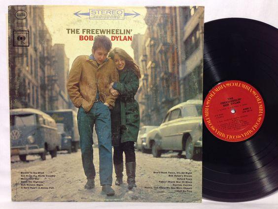 BOB DYLAN The FREEWHEELIN Vinyl Record LP KCS 8786 Columbia Free Wheelin'