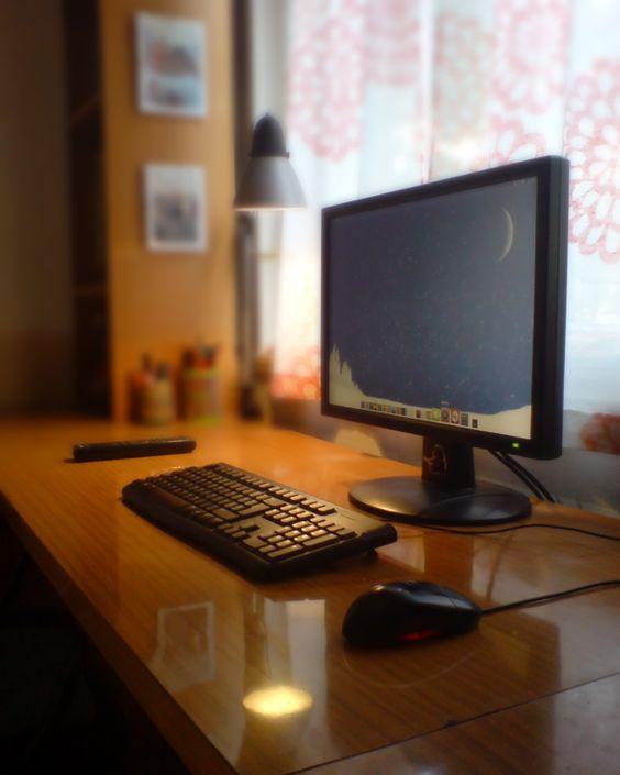 Warm desk