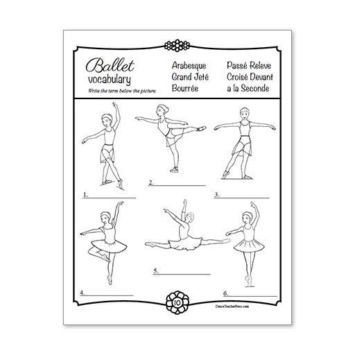 Dance Coloring Pages Quiz Design