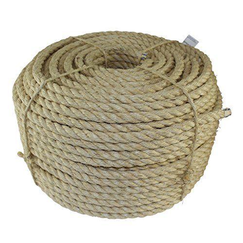 Twisted Sisal Rope 3 16 Inch Sgt Knots All Natural Https Www Amazon Com Dp B01jtt60kq Ref Cm Sw R Pi Dp U X Ocvobbq Sisal Rope Sisal Natural Fibers