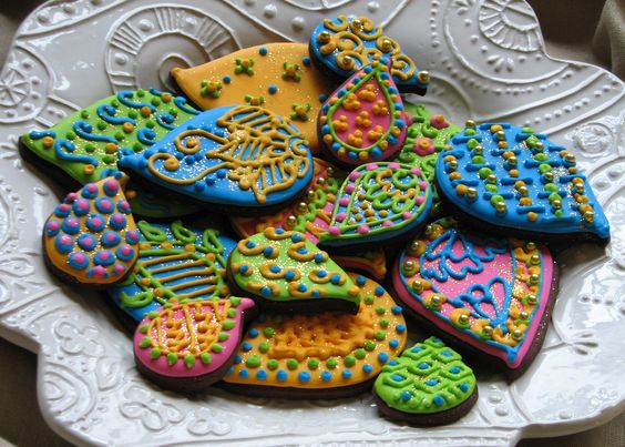 india-inspired cookies