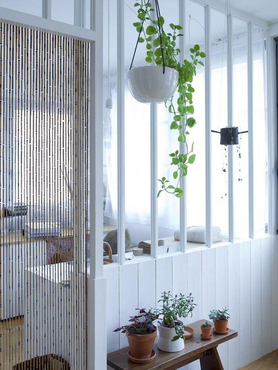 Mur s paration en verre esprit atelier petits espaces for Cloison esprit atelier
