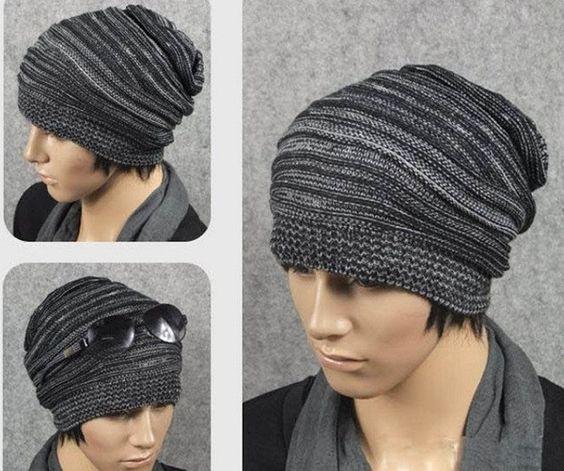 Unisex Knit Baggy Beanie Winter Hat | Opovoo Online Shop