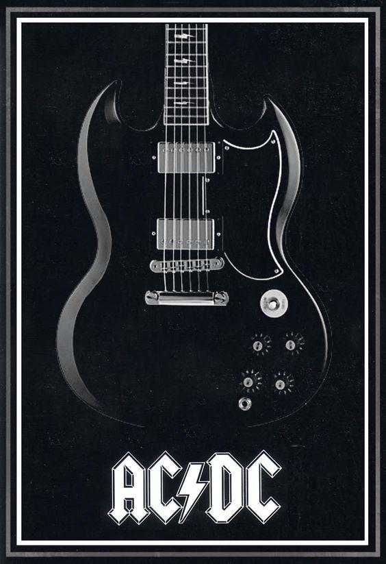 AC/DC back in black poster by MitchBaker13.deviantart.com on @deviantART