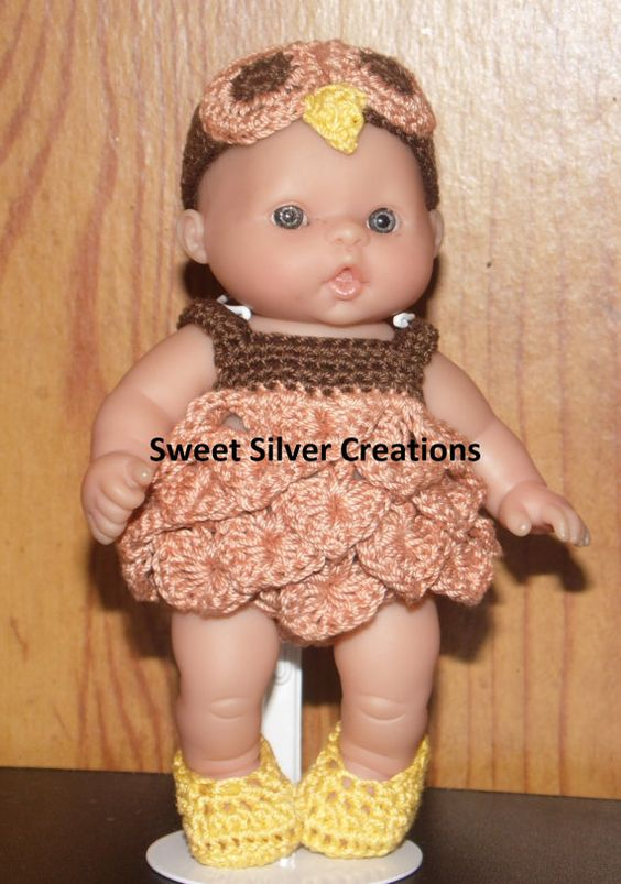Crochet Pattern 5.5 inch Berenguer/Lots von SweetSilverCreations