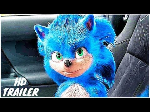 Sonic The Hedgehog Official Trailer New 2019 Jim Carrey Sonic