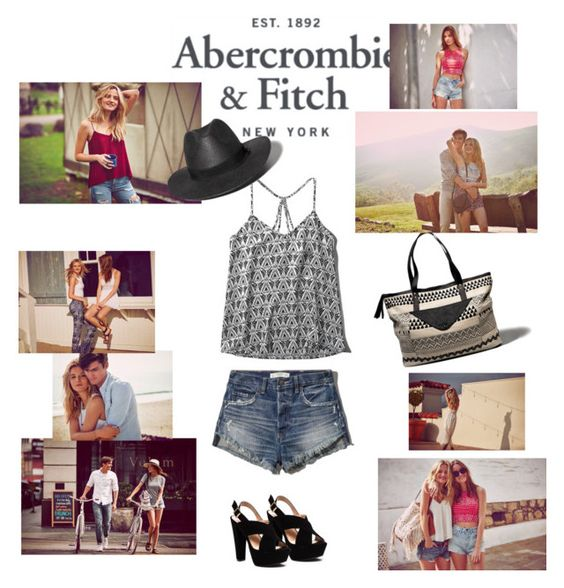 The A&F Summer Getaway Giveaway: Contest Entry by dinapetridi on Polyvore featuring Abercrombie & Fitch