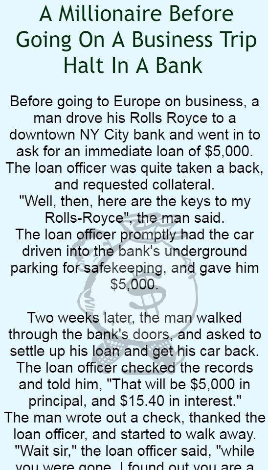 loans away business walked