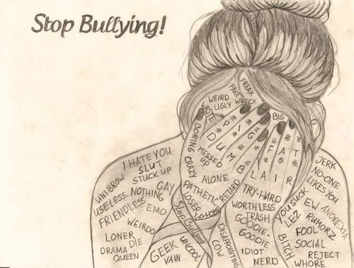 bullying drawing | c r e a t i v e a r t | Pinterest ...