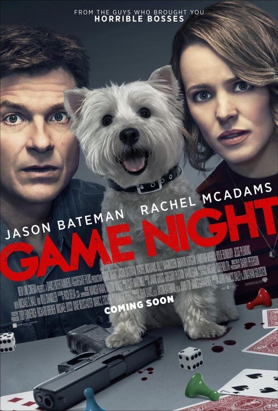 "Jason Bateman and Rachel McAdams lead a star-studded supporting cast in ""Game Night"", an action comedy movie filled with movie references that get a little over-the-top, plot twist-ceptions, and satires."