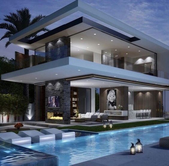 Luxury Lifestyle With Bespoke Pieces Boca Do Lobo Inspiration And Ideas Modern Mansion Dream House Exterior Modern House Design