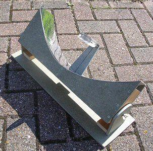 Quentador parab lico como facer meteocesures pinterest for Tin can solar heater