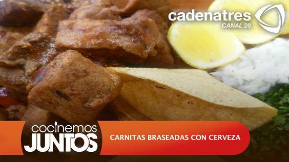 CARNITAS BRASEADAS CON CERVEZA