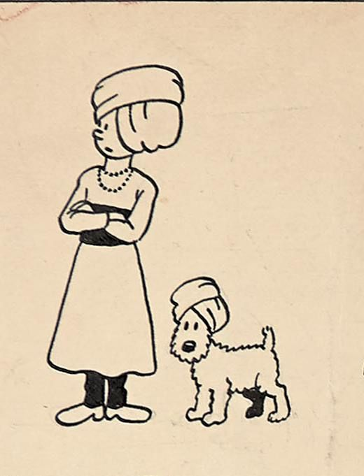 Tintin et Milou en Inde