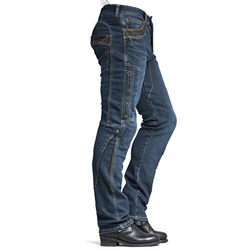 42 MAXLER JEAN Men/'s Bike Motorcycle Motorbike Kevlar Jeans 002 Blue