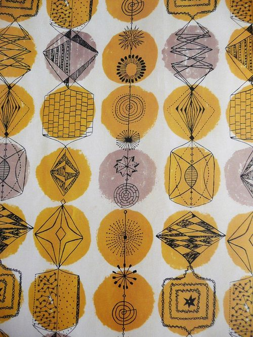 Lucienne Day pioneer of contemporary design and one of my favourite textile designers of the 20th century