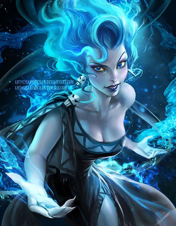 Hades by Sakimichan on Diviantart