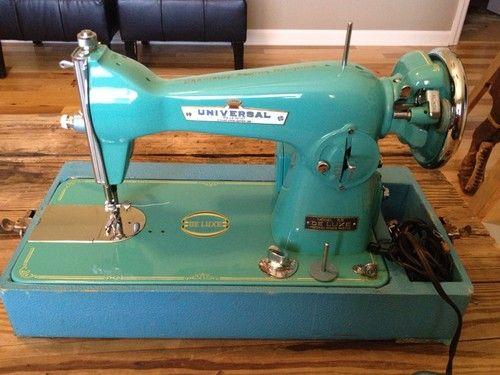 teal singer sewing machine
