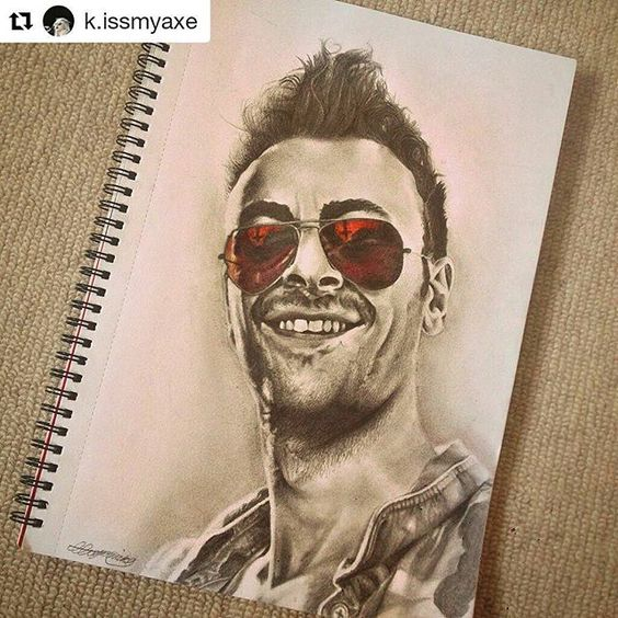 """#Repost @k.issmyaxe with @repostapp ・・・ """"I'm just another shit-faced Irishman, am I not?"""" • • say hello to my new fave #proinsiascassidy #preacher #art #drawing"""